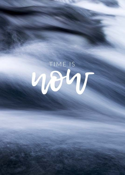 Time is Now Poster in de groep Posters / Mindfulness bij Desenio AB (10493)