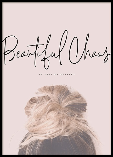 Beautiful Chaos Poster in de groep Posters / Fashion bij Desenio AB (10730)