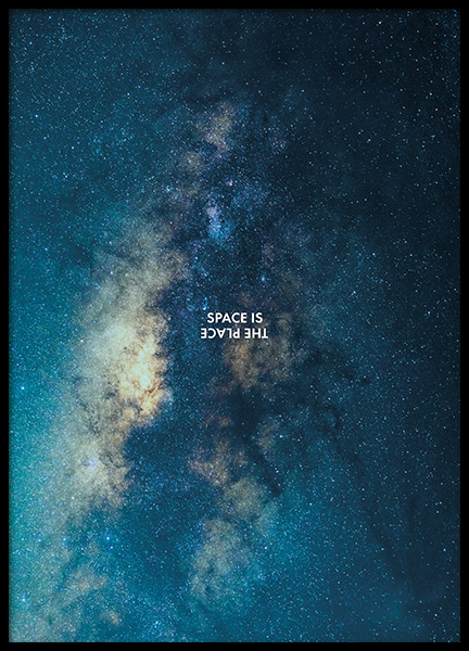 Space is the Place Poster in de groep Posters / Natuurmotieven bij Desenio AB (11169)