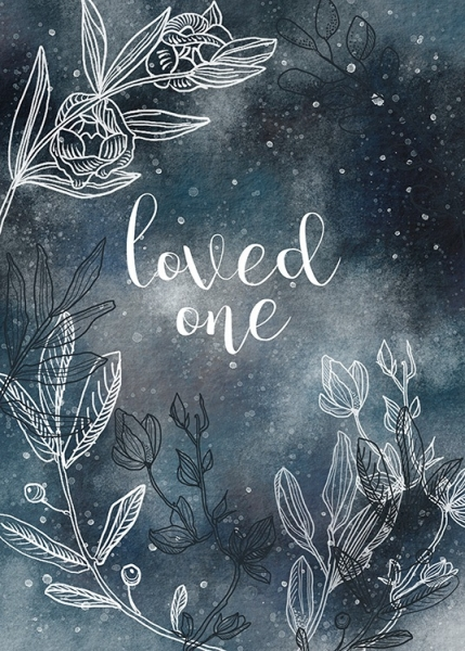 Loved One Poster in de groep Posters / Kinderposters bij Desenio AB (11291)