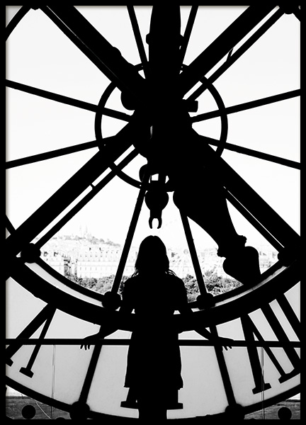 Time in Paris Poster in de groep Studio Collections / Studio Cosmopolitan bij Desenio AB (11333)