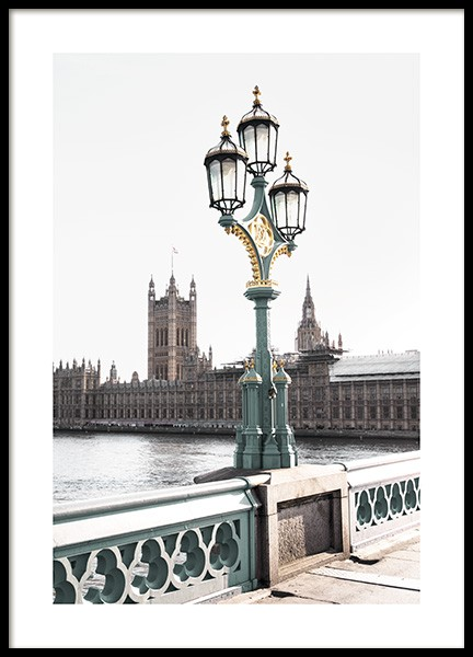 Westminster Bridge Poster in de groep Studio Collections / Studio Cosmopolitan bij Desenio AB (11354)