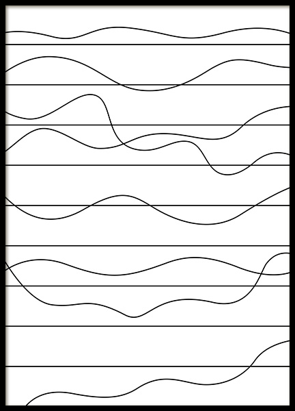 Ups and Downs Poster in de groep Posters / Grafische posters bij Desenio AB (11989)