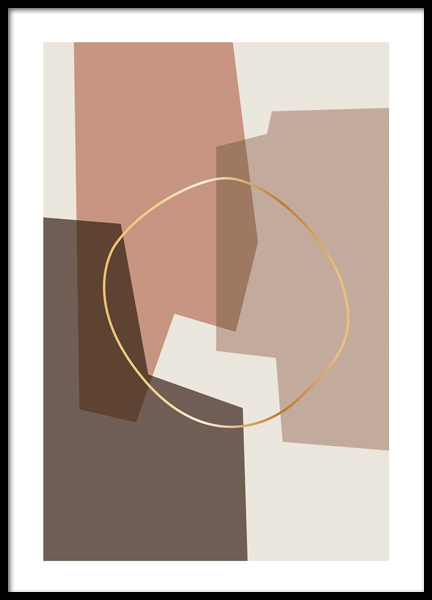 Abstract Composition Poster in de groep Posters / Kunst bij Desenio AB (12516)