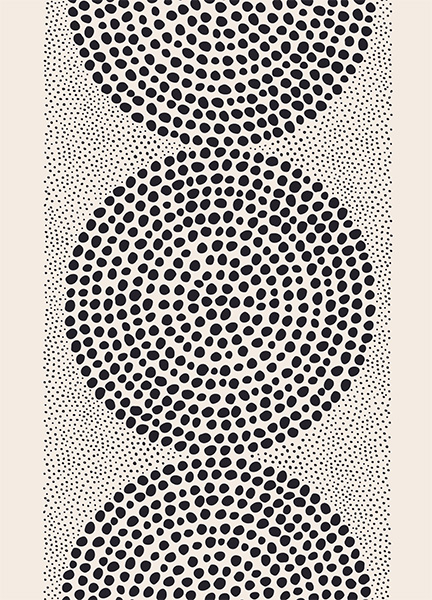 Dotted Pattern Poster in de groep Posters / Kunst bij Desenio AB (12571)