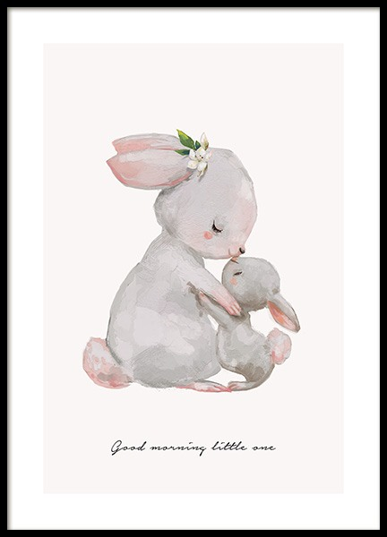 Good Morning Little One Poster in de groep Posters / Kinderposters bij Desenio AB (13072)