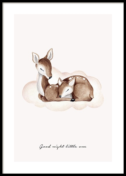 Good Night Little One Poster in de groep Posters / Kinderposters bij Desenio AB (13073)