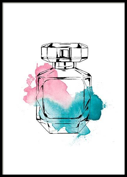 Perfume Color Three Poster in de groep Posters / Fashion bij Desenio AB (2586)