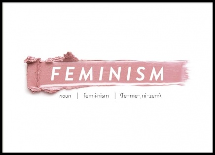 Feminism Poster in de groep Posters / Fashion bij Desenio AB (8837)