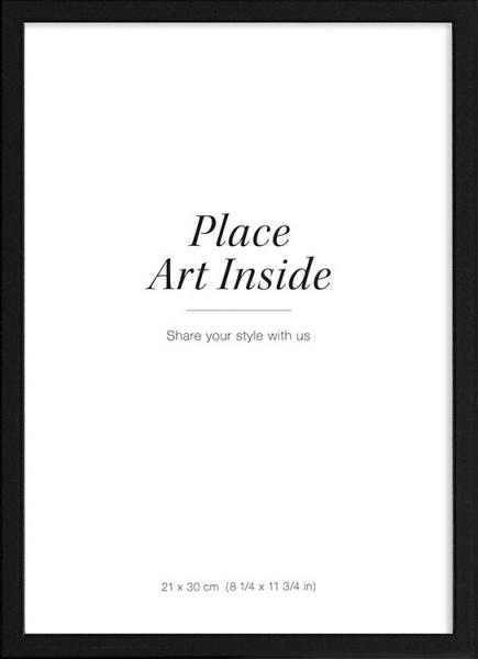 Grote Lijst Met Passepartout.Fotolijsten Lijsten Online Posterlijsten Desenio