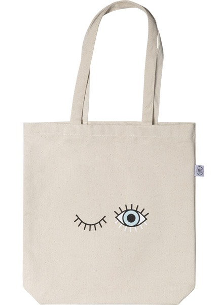 Baby Blue Tote Bag in de groep Limited edition bij Desenio AB (TOTE50141)