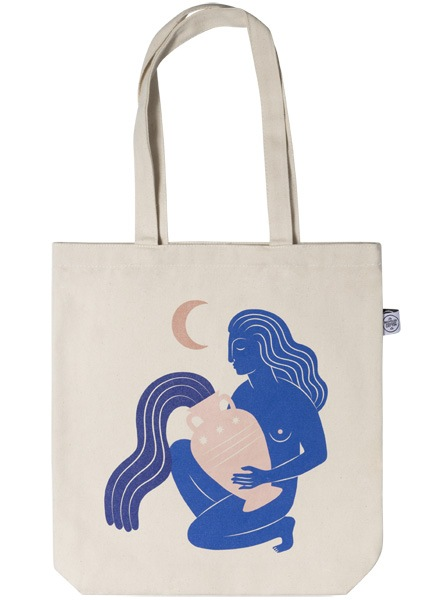 Under the Moon Tote Bag in de groep Limited edition bij Desenio AB (TOTE50143)
