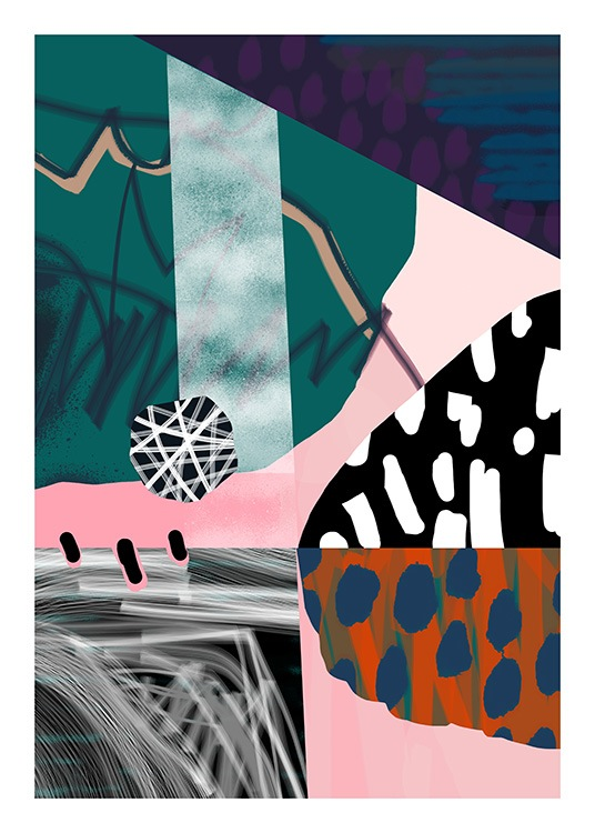 Abstract Garden No2 Poster / Kunst bij Desenio AB (10938)
