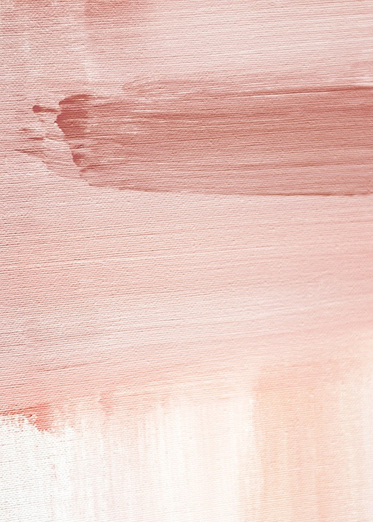 Abstract Painting Pink No1 Poster / Kunst bij Desenio AB (12894)
