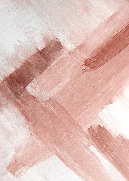Abstract Painting Pink No2 Poster / Kunst bij Desenio AB (12895)