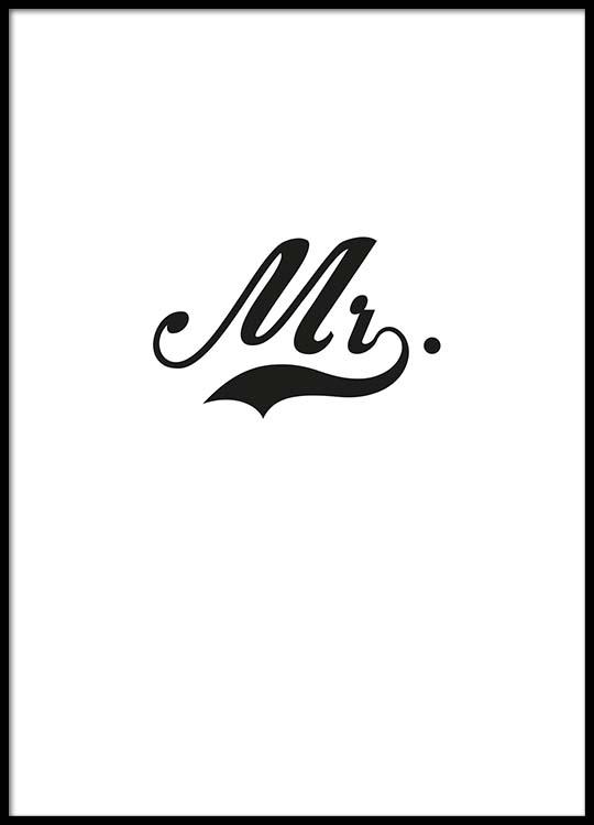 Topnotch Mr. Poster AE37