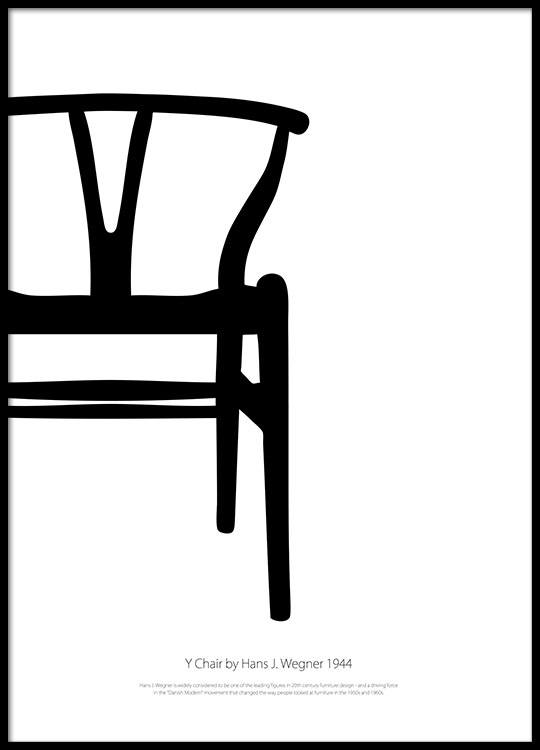 Tremendous Y Chair Blackandwhite Posters Pdpeps Interior Chair Design Pdpepsorg