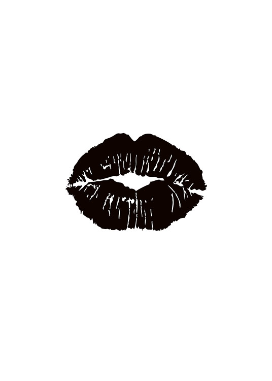 Black Lips, Poster / Fashion bij Desenio AB (7757)