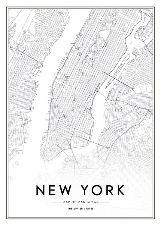 Poster Met Foto New York Prints En Posters Met Steden