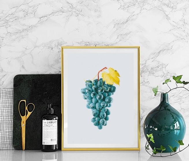 moderne kunst poster met fotokunst kleurrijke prints. Black Bedroom Furniture Sets. Home Design Ideas