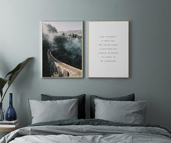 Beautiful Poster Slaapkamer Images - Ideeën Voor Thuis - ibarakijets.org