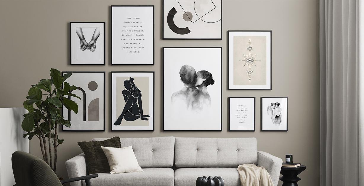 Zwart Wit Posters Zwart Wit Kunst Bestellen Desenio Nl