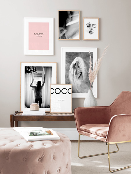 Citaten Over Mode : Fashion en mode posters en prints met quotes chanel en prada