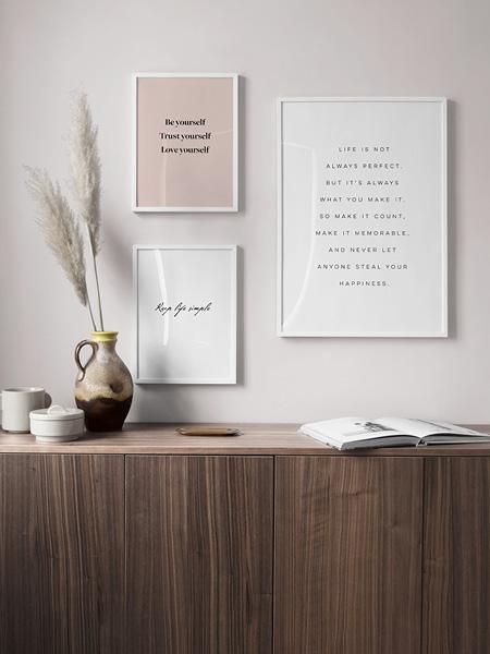 Filosofische Citaten Muziek : Posters met tekst posters en affische met tekst en quotes desenio